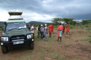 Meeting The Maasai People