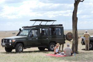 Natural World Lunch On Safari