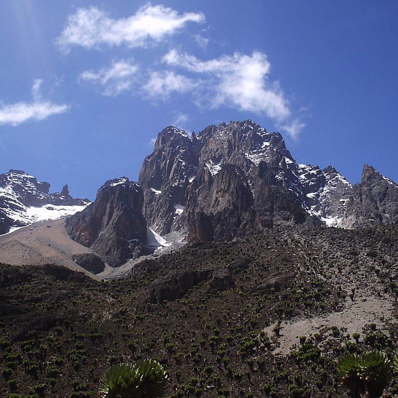 Mount Kenya National park - Kenya