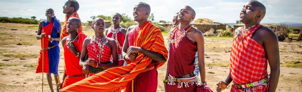 Masai Village visit on your masai Mara wildlife migration safari tour with Natural World Kenya Safaris